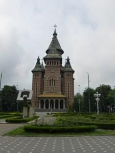Timisoara Orthodox Church representing the major religion in Romania.